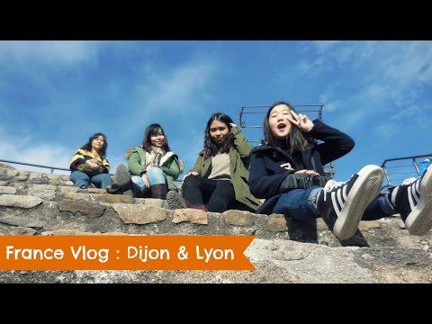 FRANCE VLOG : DIJON & LYON   Acireloves
