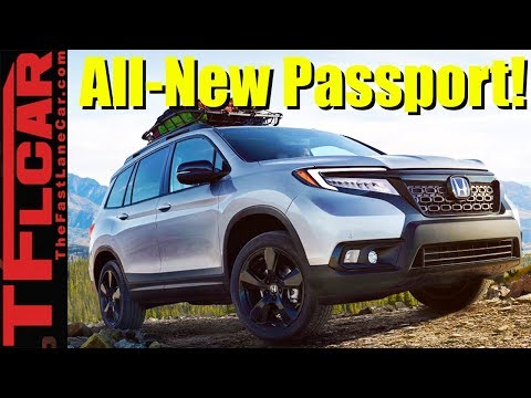 2019 Honda Passport Debuts: Ready For Off-Road Adventure and Towing Duty!