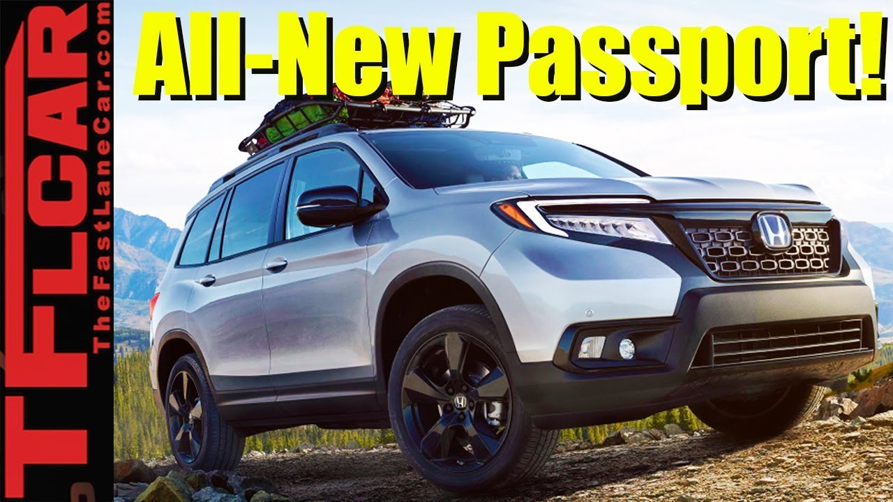 2019 Honda Passport Debuts Ready For Off Road Adventure And Towing