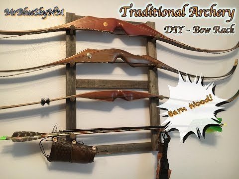 Traditional Archery DIY-Bow Rack