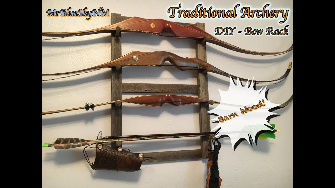 Traditional Archery Diy Bow Rack