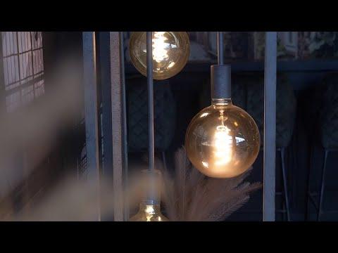 Stehlampe Nathalie 3-flammig Metall silber
