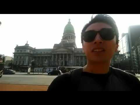 Erick en Buenos Aires- Work and Travel Argentina