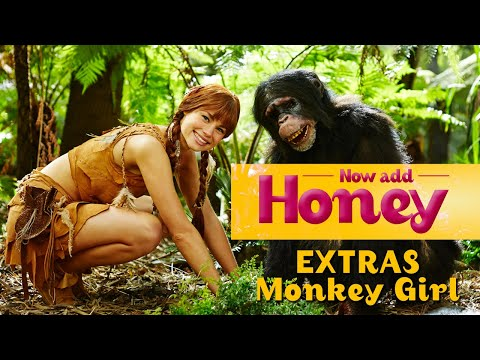 Now Add Honey - Monkey Girl Clip