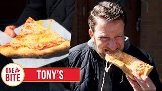 Barstool Pizza Review -  Tony's Pizza