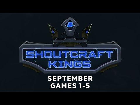 ShoutCraft Kings September - Games 1-5