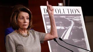 О чем Нэнси Пелоси восемь часов говорила Конгрессу
