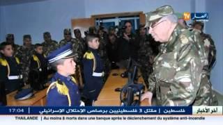 الفريق احمد قايد صالح يواصل زيارته للناحية العسكرية الثانية