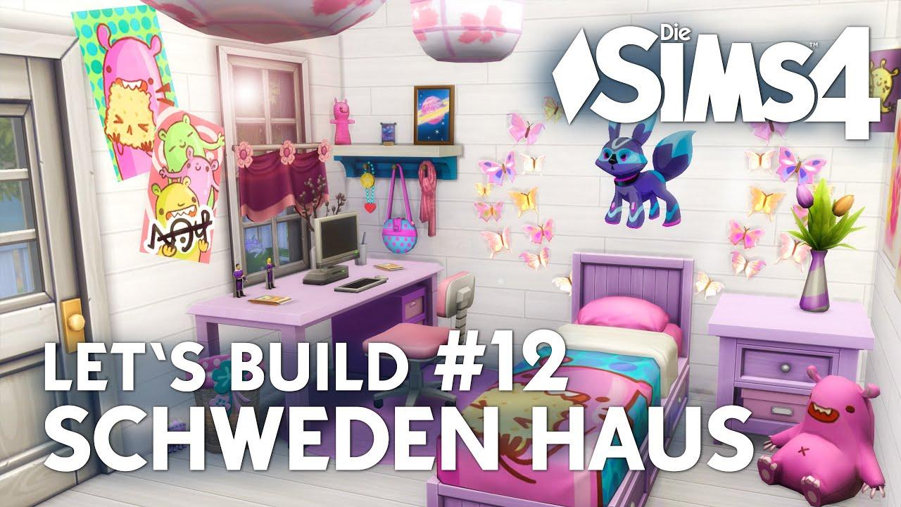 Kinderzimmer einrichten | Die Sims 4 Let\'s Build #12 Schweden Haus ...