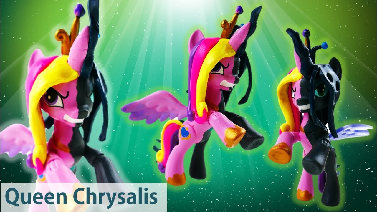 Queen Chrysalis Transforms Into Princess Cadance My Little