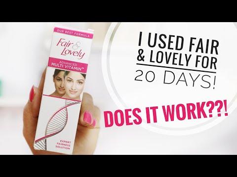 I Used Fair & Lovely for 20 Days  Does It Make Skin Fairer?