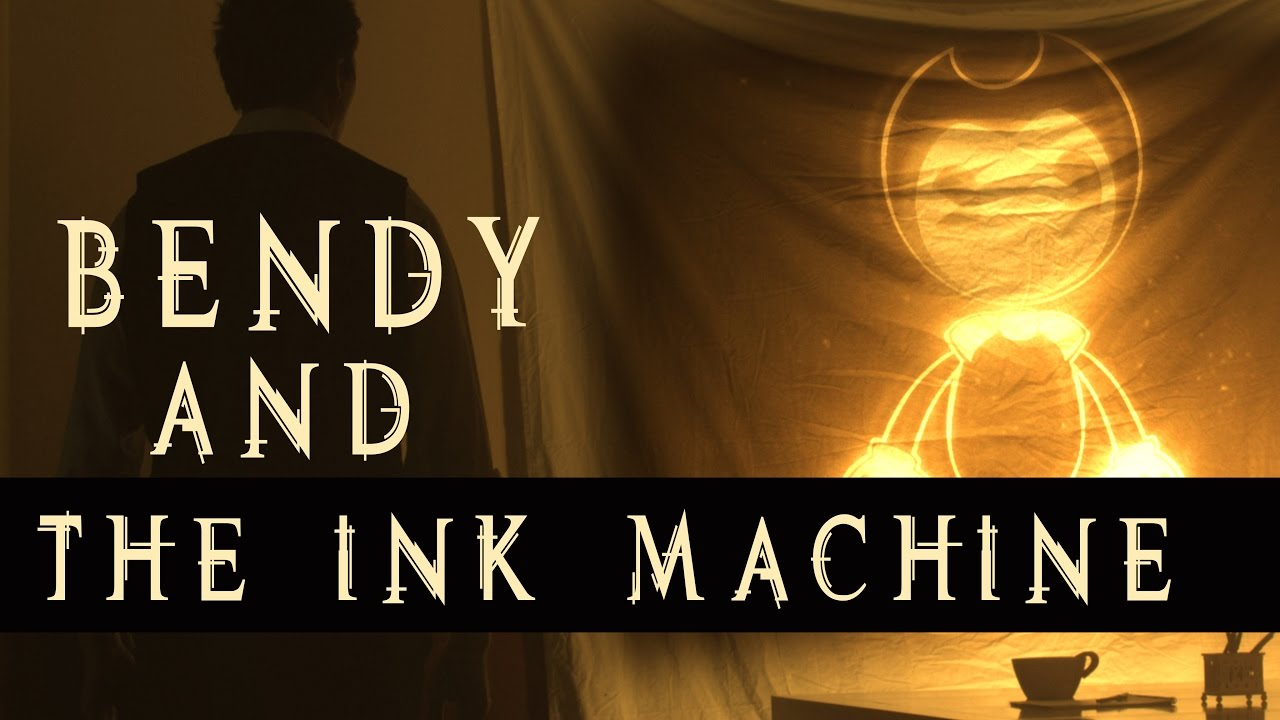 Bendy Machine And Face Ink Bendy Ink