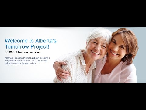 Alberta's Tomorrow Project - Canadian Partnership