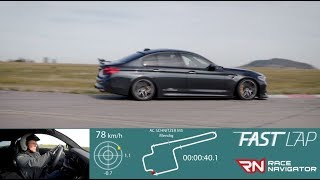 homepage tile video photo for Fast Lap: M5 Competition by AC Schnitzer
