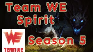 Team WE Spirit Kindred Jungle vs Leesin Patch 5.20