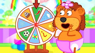 Lion Family Official Channel | Magic Ring | Cartoon for Kids