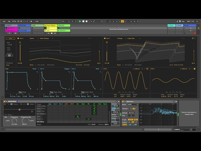 Learn Live 10: Wavetable – Changing wavetables