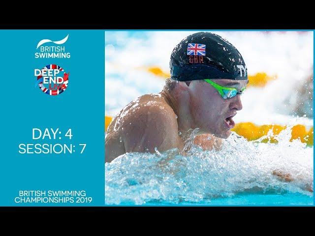British Swimming Championships 2019 – Session 7