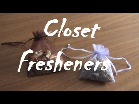 DIY  Aromatic Fresheners For Closet And Drawers   YouTube