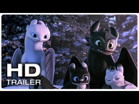 Play Toothless & his kids visit New Berk Scene | HOW TO TRAIN YOUR DRAGON HOMECOMING (2019) Movie CLIP HD