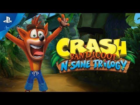Crash Bandicoot N.Sane Trilogy PS4 прохождение (геймплей, обзор)