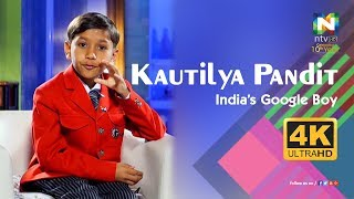 Kautilya Pandit | Face to Face | India's Google Boy | ntvHD