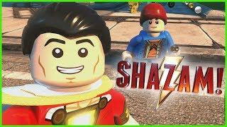 Download SHAZAM Character Pack 1 DLC Showcase! LEGO DC Super-Villains Mp3 and Videos
