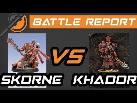 Warmachine & Hordes Battle Reports - Skorne (Xerxis1) vs Khador (Irusk1)