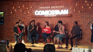 Biswa kalyan On The Launch Of Comicstaan Season 2 | Zakir Khan