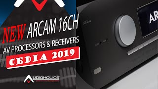 Видео Arcam 16CH Processors, AV Receivers, Amplifiers and more (автор: Audioholics)