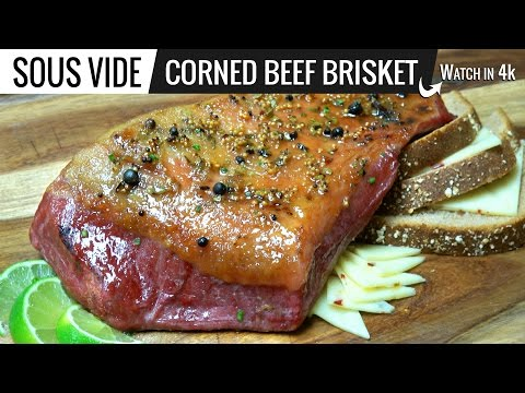 Sous Vide Corned Beef Brisket by Sous Vide Everything - How to cook Corned Beef Brisket