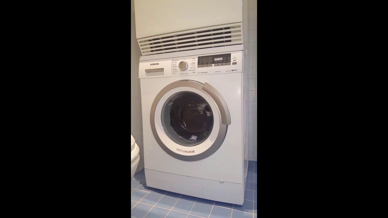Vaak Deur van Siemens wasmachine gaat niet open - YouTube FT13