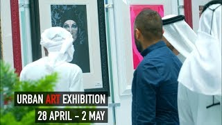 Urban Art Exhibition at RAKEZ