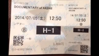 映画 DOCUMENTARY of AKB48 The time has come 少女たちは、今、その背中に何を想う