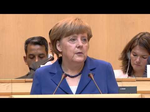 WHO: WHA 68 - Speech by Angela Merkel, Chancellor of Germany