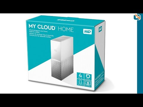 WD My Cloud Home 8TB Hard Drive Review - YouTube