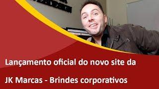 Novo site da JK Marcas - Criação de Sites em São Bento do Sul - Samuca Webdesign