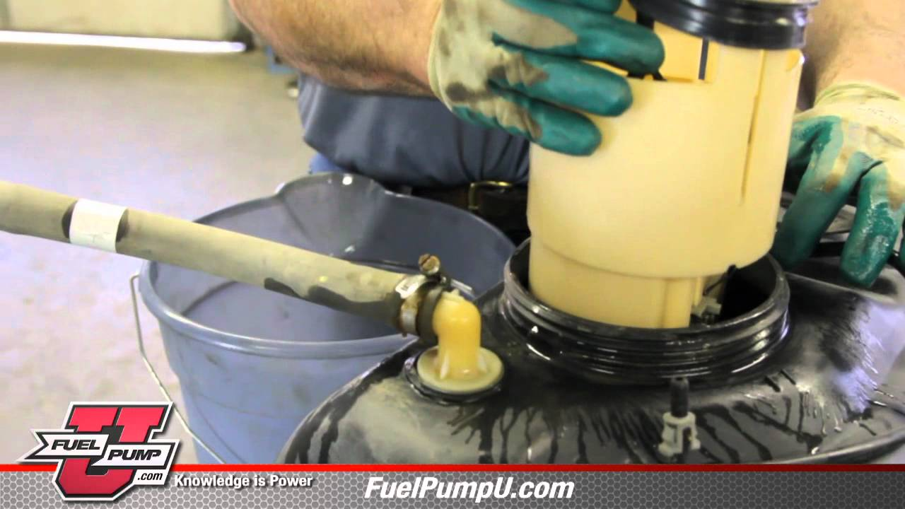 How to Replace a Fuel Pump E7138M on a 19982002 Dodge RAM Pickup  YouTube