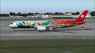 Sichuan Airlines, Panda Livery A350-900 (FS2004)