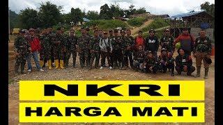 Kenangan Dibatas Malaysia Bersama Tentara Zeni Perbatasan.