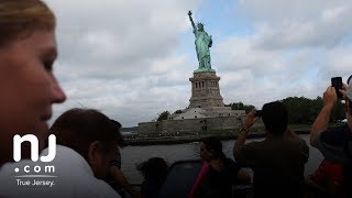 Legislators take aim at mega yachts blocking the view Statue of Liberty.
