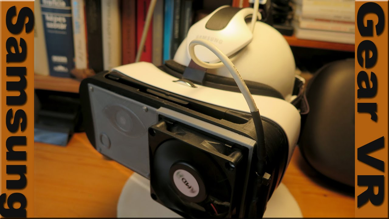 Samsung Gear VR cooling system (homemade)