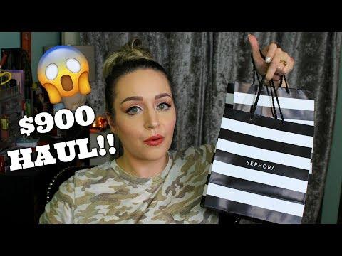 HUGE Sephora Makeup & Skincare HAUL!