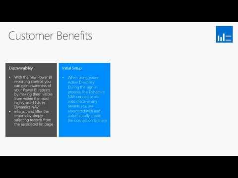 What's New In Microsoft Dynamics NAV 2018 - Power BI Reporting