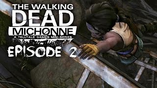 The Walking Dead Michonne Gameplay Walkthrough EPISODE 2 - GIVE NO SHELTER (FULL EPISODE)