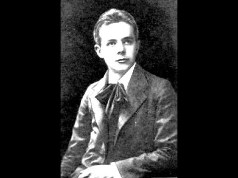 Bartók Béla Rhapsody op. 1 for piano solo Tibor Szász