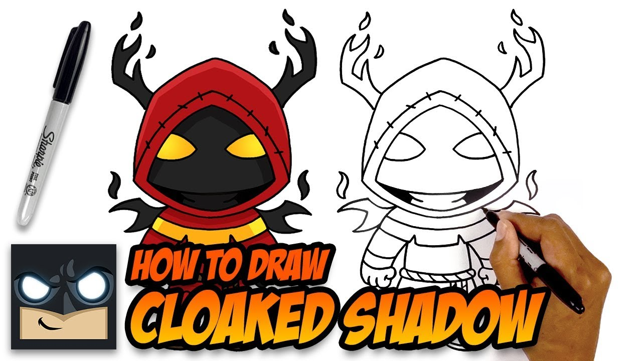 It is a graphic of Insane Fortnite Ghost And Shadow Skin Drawing