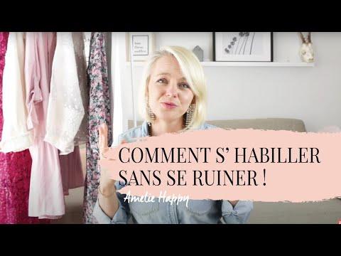 8 CONSEILS : COMMENT BIEN S'HABILLER SANS SE RUINER ? MODE FEMME