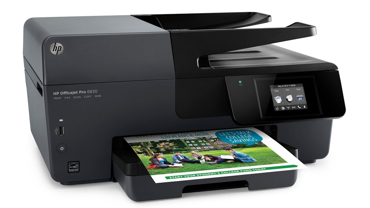 Hp Officejet Pro 6830 - How To Clean Printhead - Not Printing Black/ Color  ⬇️Buy Repair Kit Here! ⬇️