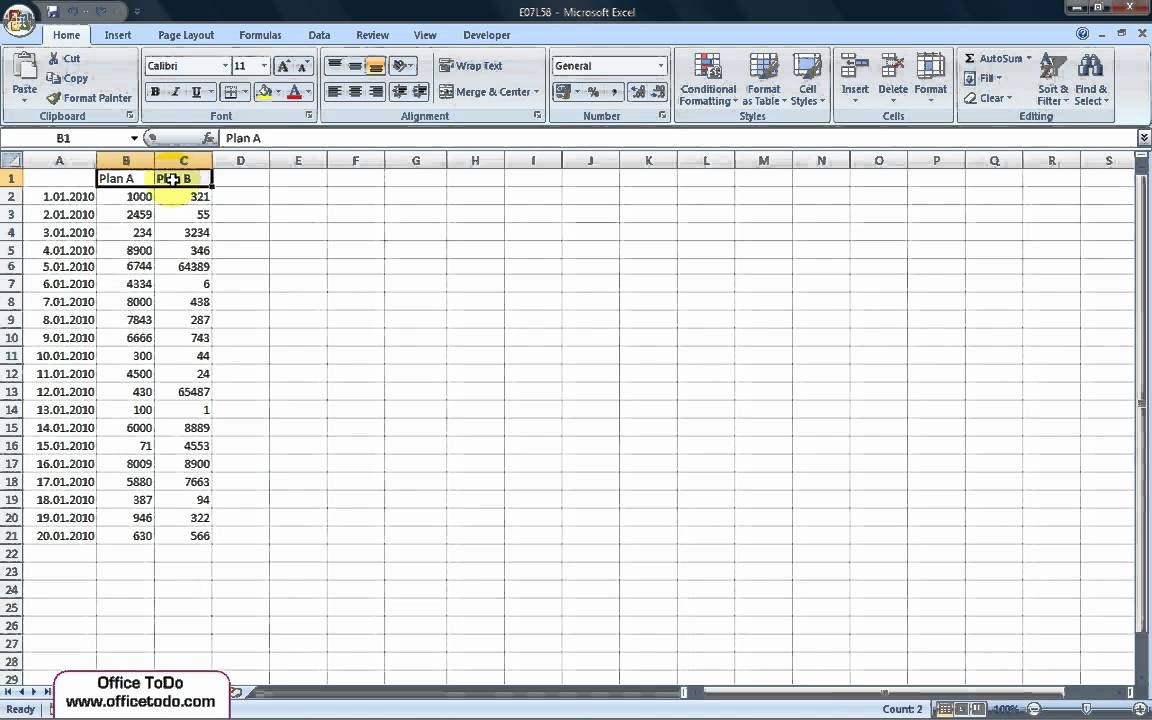 How to filter a list of data for multiple items? | Excel 2007